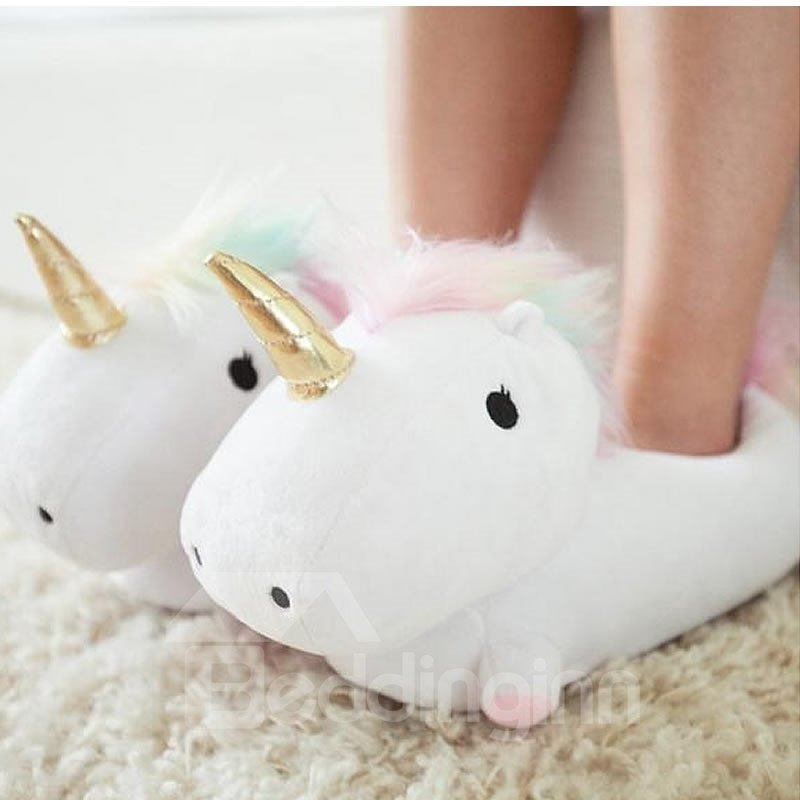 Unicorn Design Super Soft and Warm Winter Slipper