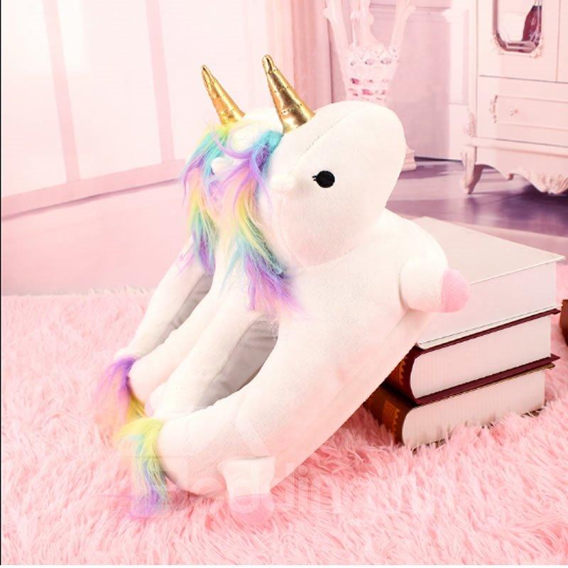 Unicorn Design Super Soft and Warm Winter Slipper