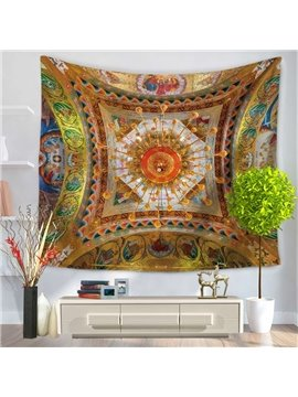 Ancient Murals Bohemia Pattern Ethnic Style Decorative Hanging Wall Tapestry