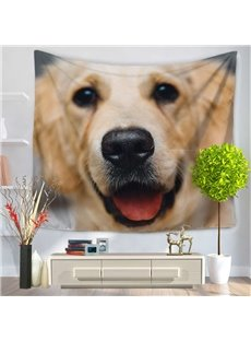 Golden Retriever Dog Pattern Decorative Hanging Wall Tapestry