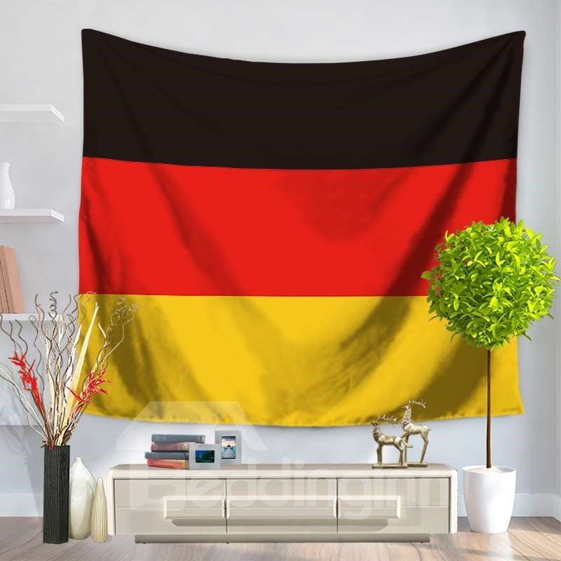Germany National Flag Design Decorative Hanging Wall Tapestry