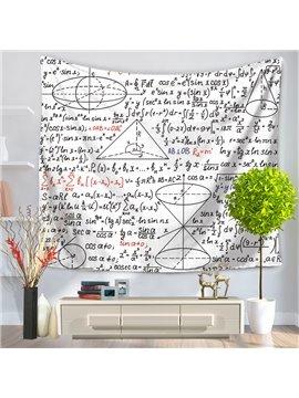 Mathematics Foundations of Geometry Pattern Decorative Hanging Wall Tapestry