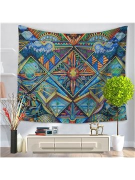 Ornaments Mystical Universe Swirls BohoEthnic Style Decorative Hanging Wall Tapestry