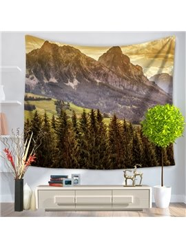 Beautiful Landscape with Sunlight Peace Decorative Hanging Wall Tapestry