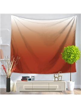 Gradient Pure Ramp Shader Color Brown Decorative Hanging Wall Tapestry