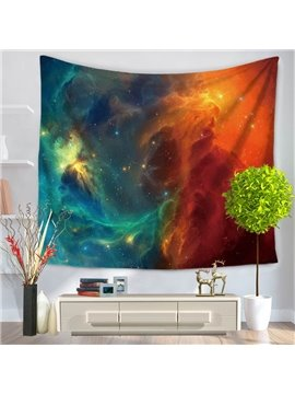 Mysterious Galaxy Milky Way Pattern Decorative Hanging Wall Tapestry
