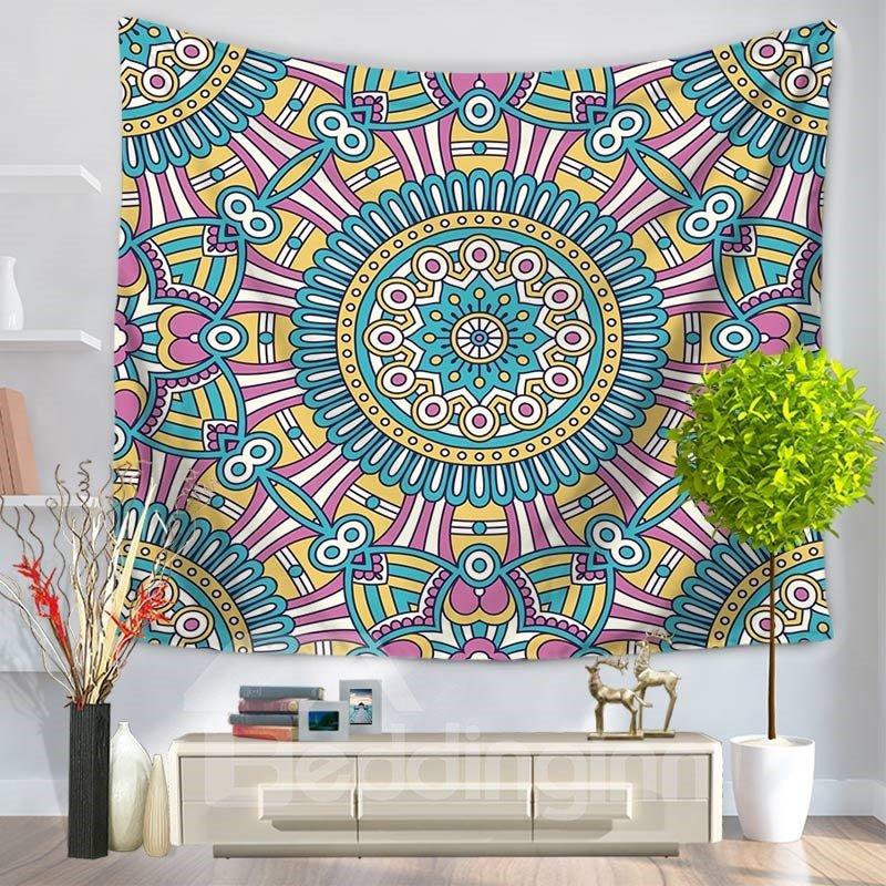 Large Indian Mandala Ethnic Style Decorative Hanging Wall Tapestry