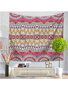 Pink Hippy Mandala Bohemian Indian Decorative Hanging Wall Tapestry