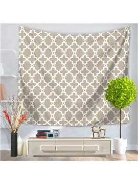 Grey Gear New Geometric Modern Style Decorative Hanging Wall Tapestry