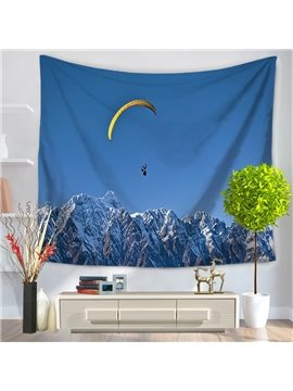 Extreme Sports Skydiving Blue Sky Pattern Decorative Hanging Wall Tapestry