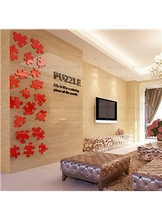 Geometrical Pattern Acrylic Waterproof and Eco-friendly Wall Stickers