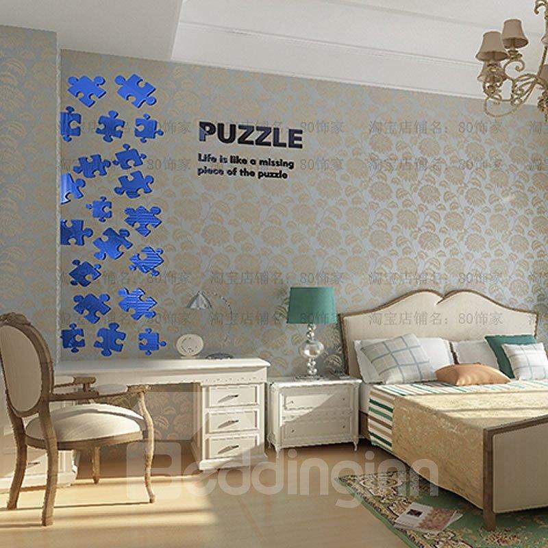 Geometrical Pattern Acrylic Waterproof and Eco-friendly Wall Stickers