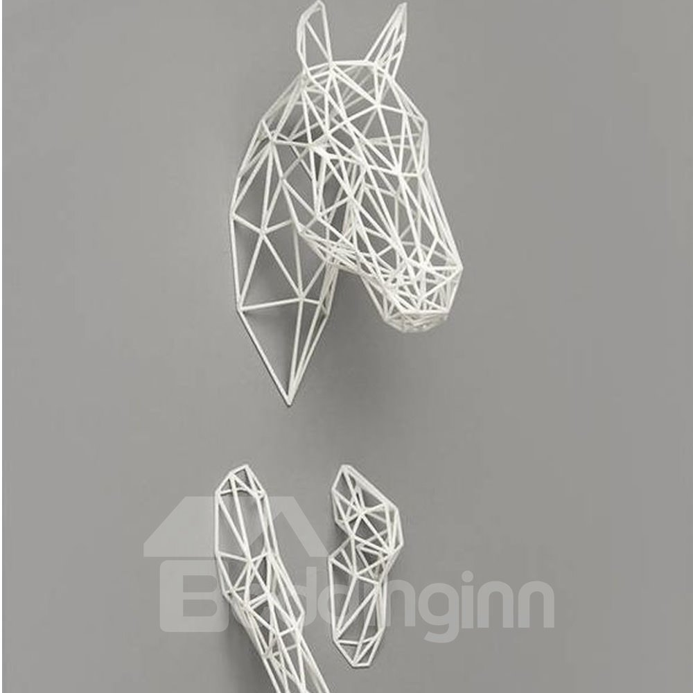 Of Horse Head Foot Resin Handmade Wall Decor Outlines