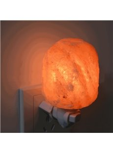 Amazing and Natural Crystal Salt Lamp Home Decoration LED Light