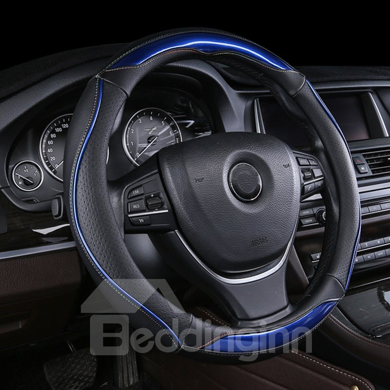 Anti Slip Grip Enhanced With Glossy Finish Steering Wheel Cover