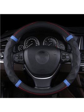 Enhanced Grip Shapes Casual And Extremely Comfortable Steering Wheel Cover