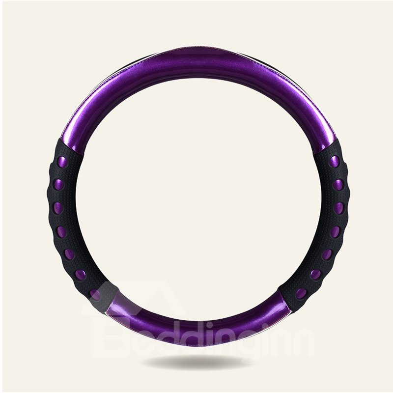Futuristic Style Extra Grip With Glossy Finish Universal Fit Steering Wheel Cover