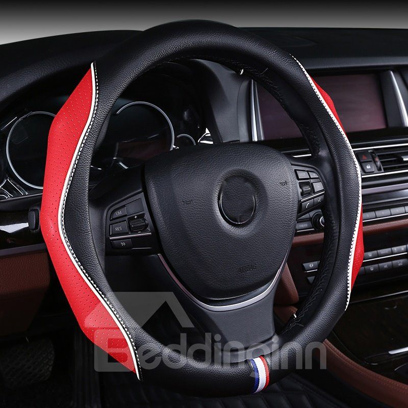 Extreme Comfort With Extra Grip Side Leathers Universal Fit Steering Wheel Cover