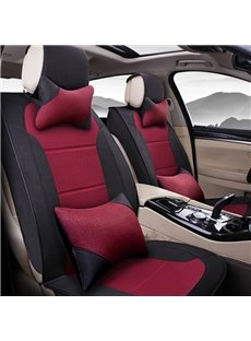 Extreme Comfort Design Low Key Flax Material Universal Car Seat Covers