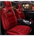 Extreme Comfortable Cushioned Surface Fluffy Material Universal Fit Car Seat Covers