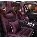 Extreme Comfort Soft Plush Material With Cozy Cushions Universal Fit Car Seat Covers