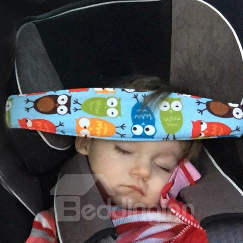 Baby Head Support Pram Stroller Safety Seat Fastening Belt