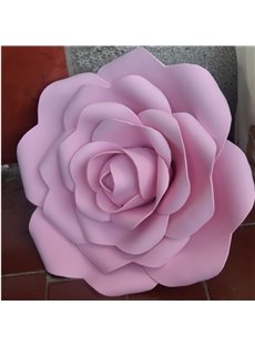 12*12in Roses Foam Eco-friendly and Waterproof 1 Piece Hanging Wall Decor