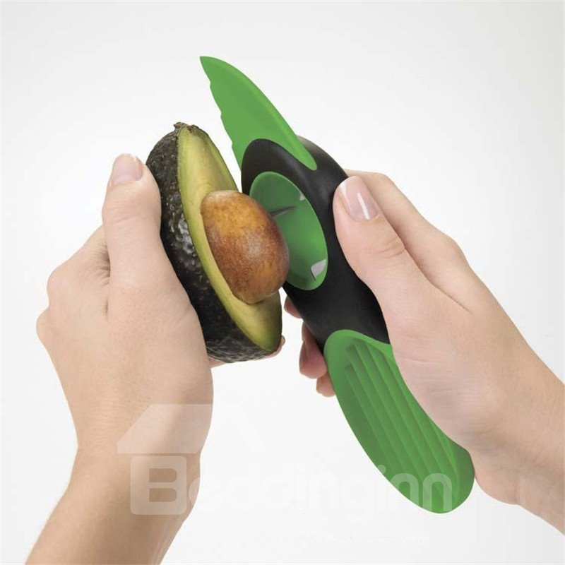 Convenient and Creative Stainless Cut Avocado and Cantaloupe Slicer