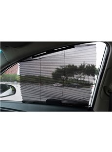 Flexible Mesh Window Shade Design Sun UV Light Protection For Car Windows