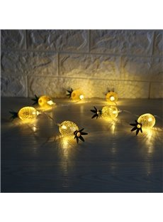 Creative and Original PP Materials Modern Style Pineapple Home Decoration LED Night Light