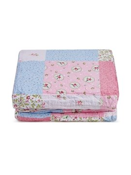 Floral Pattern Pastoral Style 3-Piece Bed in a Bag