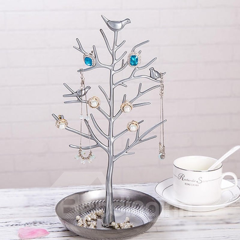 6*12in Tree Pattern Luxury Style 1 Piece Jewelry Rack