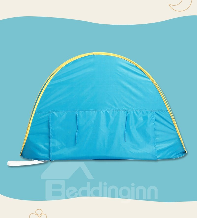 28*31*46in Blue Waterproof Windproof and Sun Shelter Tent