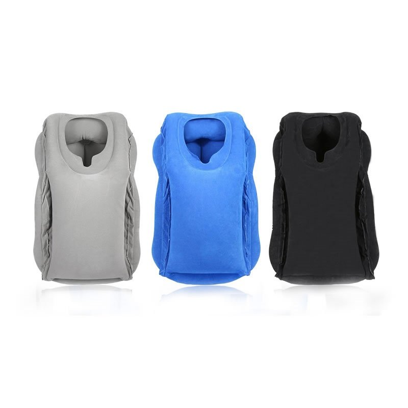 Inflatable Travel Airplane Neck Pillow for Fully Support
