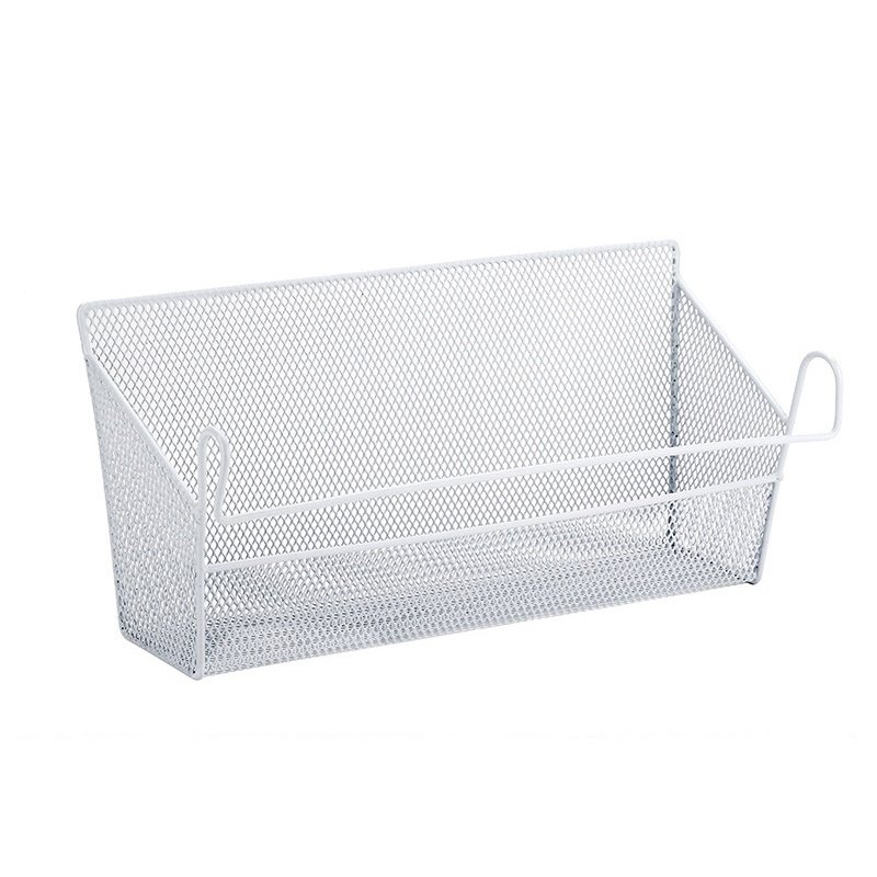 Home Using Over Bed or Cabinet Wire Mesh Hanging Storage Basket