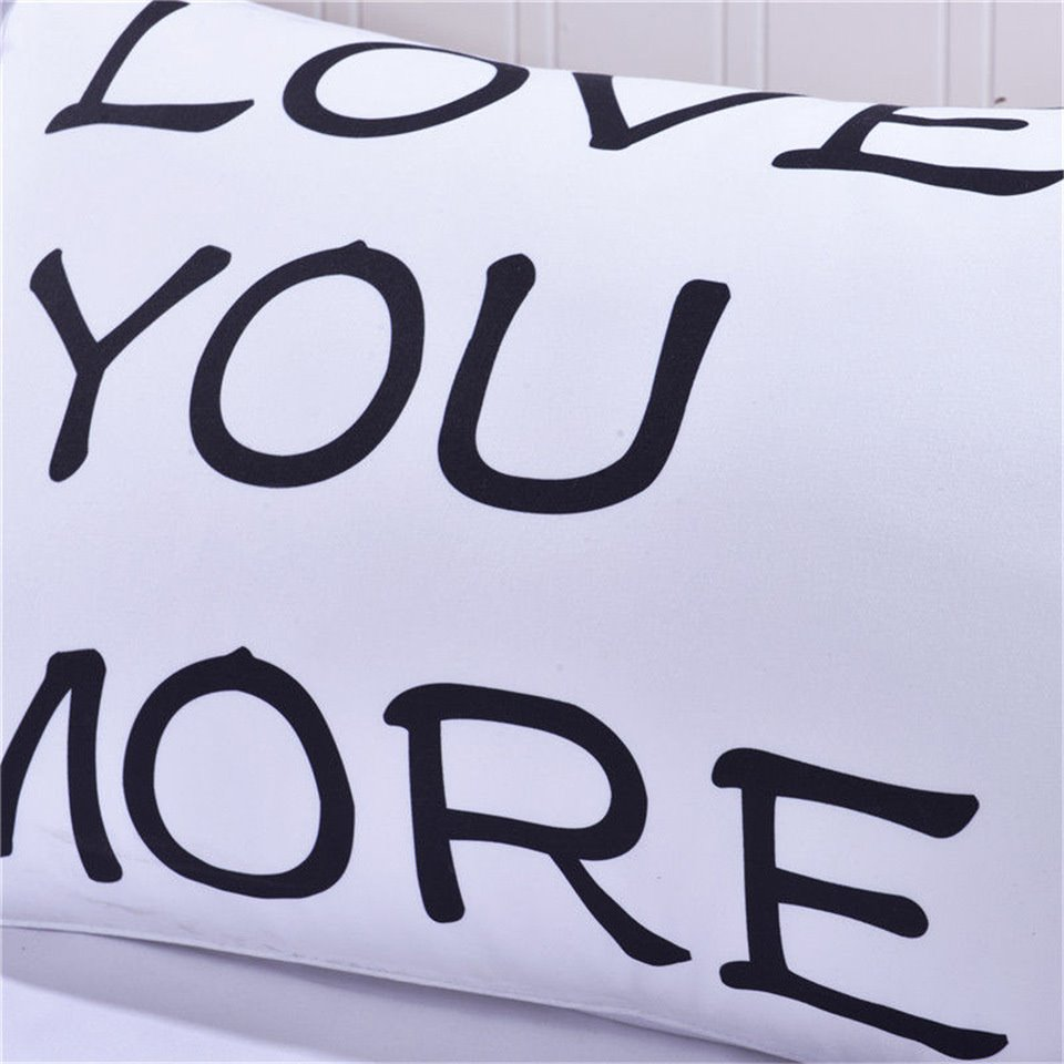 19×29in One Pair Love You and Love You More Valentine
