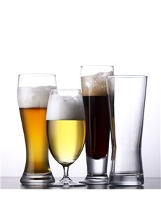Modern and Fashion Beer Cups Home Party Bar Crystal Glass Beer Cups