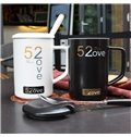Black and White Mugs Creative Gift 520 Couples Cups Tea and Coffee Mugs
