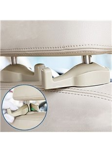 Universal Car Portable 1-Pair Seat Back Hooks