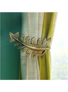 Original and Modern European Style Leaves U-Shaped Curtain Hooks and Wall Hooks