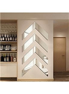 Geometry Pattern Plexi-Glass Modern and Creative European Style 3D Wall Stickers