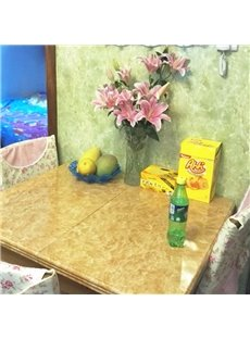 Marble Pattern PVC Waterproof Durable and Eco-friendly Self-Adhesive Table Murals