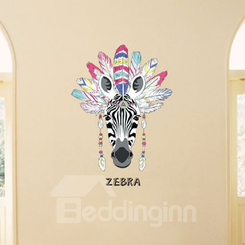 Animals Removable Deer Tiger Eagle Stickers Wall Decals