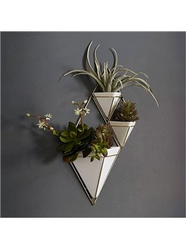 Creative and Modern European Style Three-dimensional Home and Hotel Wall Decoration Flower Vasts