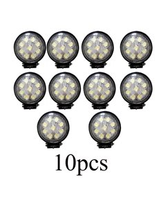 10 Piece Bundle 27W 9x3W Cree LEDs Durable Work Lights For Vehicles