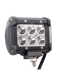 Multi Functional High Output 18W Single LED For All Things Outdoors Car Light