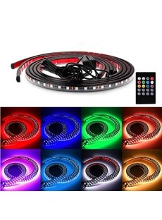 Decorative Side Strip Lights Multi-color LEDs Sound Sensitive Underbody Glow Lights