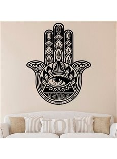 Wall Decal Vinyl Sticker Decals Hamsa Hand Wall Sticker