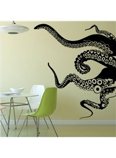 Animals Vinyl Wall Art Giant Octopus Tentacles Wall Decal Sticker
