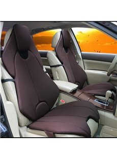 Futuristic Sports Car Style Coffee Universal Car Seat Covers